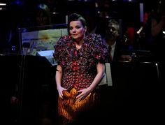 """Bjork in """"Paper Doll,"""" Swedish fashion designer Bea Szenfeld has launched a new collection entitled """"Sur la Plage."""" It contains 12 outfits that were hand-made using paper."""
