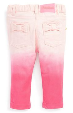 Billieblush Dip Dye Jeans (Baby Girls) available at #Nordstrom