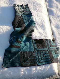 Ravelry: Mitered Wrap pattern by Maja Linusson