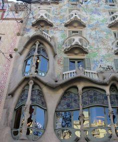 Gaudi archtecture love it