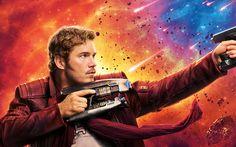 Chris Pratt Star Lord Guardians of the Galaxy Vol 2 4K 8K