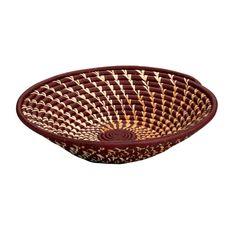 Burgundy Twist Basket - Decorative - Baskets - Products