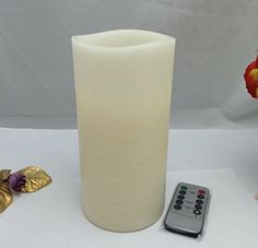 Large Pillar candles Real Wax Ivory Vanilla scented led lights Auto-Circle set *** Read more at the image link. (This is an affiliate link and I receive a commission for the sales) Large Pillar Candles, Battery Candles, Flameless Candles, Vanilla, Image Link, Candle Holders, Wax, Glow, Ivory