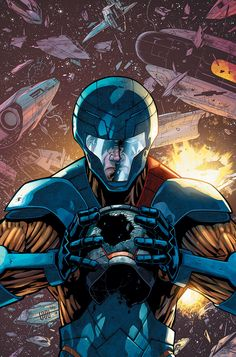 X-O MANOWAR #23 Written by ROBERT VENDITTI Art by DIEGO BERNARD Cover by CAFU Variant Cover by TOM RANEY  CLASSIFIED!  $3.99/T+/32 pgs. ON SALE MARCH 19th!