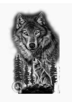 Save Gray Wolf, buy quality products and provide wolf Wolf Tattoos Men, Native Tattoos, Animal Tattoos, Celtic Tattoos, Wolf Tattoo Sleeve, Tribal Sleeve Tattoos, Chest Tattoo, Music Tattoos, Body Art Tattoos