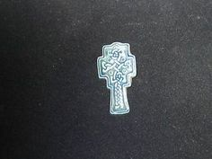 Ceramic Celtic Cross Brooch | eBay