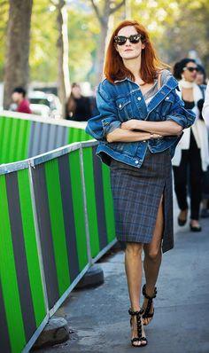 The Balenciaga Jacket Everyone Owns via @WhoWhatWear