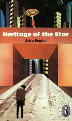 UK paperback edition of This Star Shall Abide by Sylvia Engdahl, published under the title Heritage of the Star.