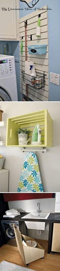 Beautiful Rustic Home Decor Project Ideas You Can Easily DIY My Laundry room DIY renovation on a budget!