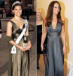 Kate wore an elegant chrome-colored gown for the annual Starlight Children's Foundation event in 2009.