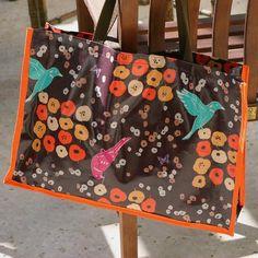 DIY Bags: DIY Oilcloth Tote