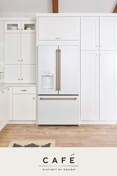 Custom appliances without the luxury price tag. Introducing the Matte White Collection by Cafe.