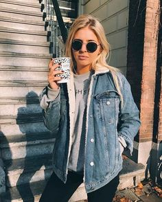 Fall Street Style Outfits Ideas For Women Fall fashion outfits ideas cute and chic winter outfits ideas 2020 Street Style Outfits, Mode Outfits, Trendy Outfits, Hipster Fall Outfits, Fall Hipster, Cowgirl Style Outfits, Trendy Jeans, Street Outfit, Look Fashion