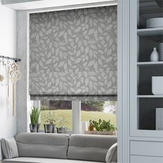 Toscana Pearl Grey Roman Blind from Blinds 2go