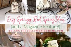 Would you like to create the bedroom of your dreams? Do you love romantic, French Country, Farmhouse style or English Cottage Style decor? In this article you will find dreamy bedroom inspiration and ideas for designing the perfect cottage bedroom. Country Cottage Garden, English Cottage Style, French Country Style, Country Farmhouse, Nordic Christmas, Christmas Gnome, House Plants Decor, Plant Decor, Flea Market Style