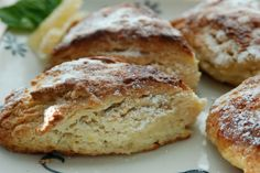 Lemon Ginger Scones. The pictures don't do it justice. These are delish!