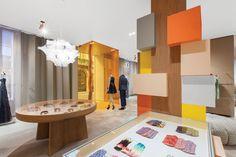 Patricia Urquiola's design for Missoni's flagship store in Milan