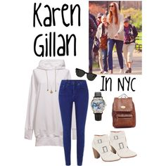 Karen Gillan In NYC