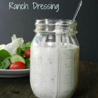 Homemade Ranch Dressing {dairy-free} - Cooking With Curls
