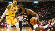 c3a234f1eb4 Lakers hope to keep Rockets  James Harden under 50 points James Harden