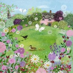 Springtime Garden, Lucy Grossmith.
