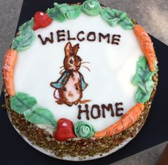 Peter Rabbit Carrot Torte