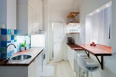 One room apartment design interior cool studio apartments pictures home design with interior photograph tiny studio . Home, Tiny House Living, Small Kitchen, Kitchen Remodel, Small Space Kitchen, Small Apartment Living, Small Apartment Living Room, Interior Design, Small Apartment Design