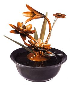 Take a look at this Lotus Wonders Tabletop Fountain today!