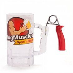 Man Cave Ideas - Muscle Mug - 'Sipping and Ripping' - Gift Ideas for Him at The Furniture Store