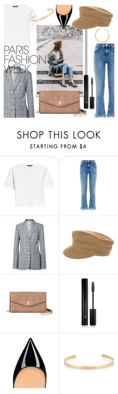"""""""creme a la creme"""" by lindzeyers ❤ liked on Polyvore featuring Alexander McQueen, Maje, TIBI, Étoile Isabel Marant, Deluxity, Forever 21, Jennifer Fisher, BaubleBar, parisfashionweek and Packandgo"""