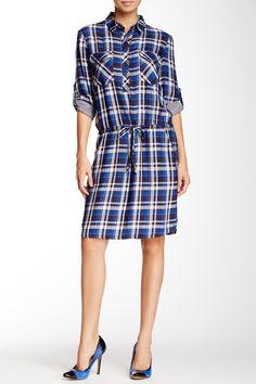 Max Studio | Plaid Shirt Dress | Nordstrom Rack  Sponsored by Nordstrom Rack.