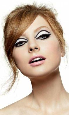 maquiagem anos 60 - Pesquisa Google