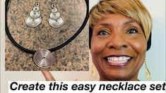 Spiral Necklace Set #8 - YouTube Diy Jewelry Videos, Flat Nose, Work Gifts, Necklace Set, Spiral, Originals, Bracelets, Earrings, Youtube