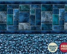 Latham Capri Fresco Ii Pool Liners Vinyl Pinterest