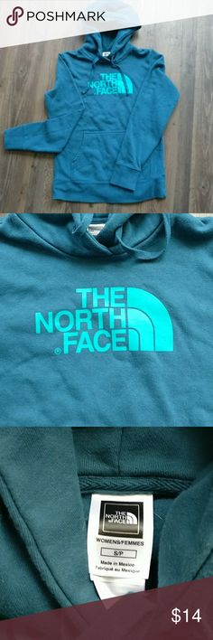 The North Face Teal Blue Hoodie - Small The North Face Teal Blue Hoodie - Small The North Face Tops Sweatshirts & Hoodies