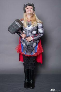Girl Thor Cosplay at Salt Lake Comic Con 2017