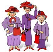 Red Hat Society Graphics | ... Hattitudes | Official Chapter of the Red Hat Society Chapter #24411