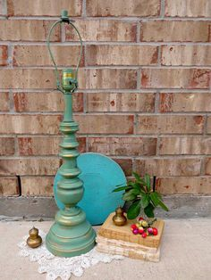 Vintage  Upcycled  Gracious Green  Architectural by TimelessNchic, $29.95