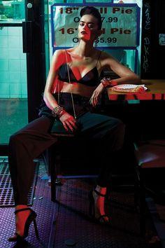 Jenna Klein in 'Bra Crawl' By Robbie Fimmano For Interview Magazine.
