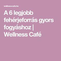 A 6 legjobb fehérjeforrás gyors fogyáshoz | Wellness Café Wellness
