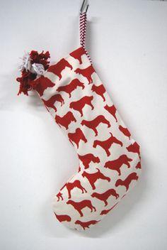 fun dog stockings from #OneBlueDog