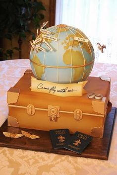 wow, travel cake
