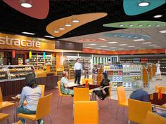 Astra c-store interior by Minale Tattersfield Roadside Retail, via Flickr