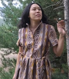Josie has made yet another #honeycombdress! And they are all magnificent #cocowawapatterns #sewing Pdf Sewing Patterns, Wrap Dress, Shirt Dress, Shirts, Dresses, Fashion, Vestidos, Moda, Shirtdress