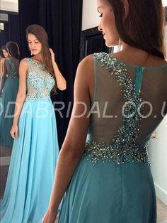 modabridal.co.uk SUPPLIES Fashionable Floor-Length Scoop Zipper-up Fall A-line Prom Sleeveless Chic & Modern Dress Prom Dresses 2016