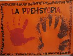 LA CLASE DE MIREN: mis experiencias en el aula: PORTADA DE LA PREHISTORIA: PINTURA RUPESTRE