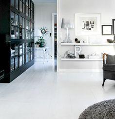 Malede gulve - dømt inde eller ude af arkitektparret?