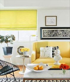 Yellow Home Decor High Fashion Trends Eclectic