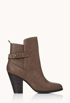 011d5de6aa1 City-Chic Faux Leather Booties