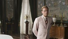Leonardo DiCaprio in Baz Luhrmann's film adaptation of The Great Gatsby
